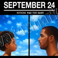 Drake September 24 Nothing Was The Same Albums Poster A1 A2 A3 Wall Art