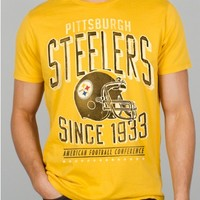 Junk Food Clothing - NFL Pittsburgh Steelers Tee - NFL - Collections - Mens