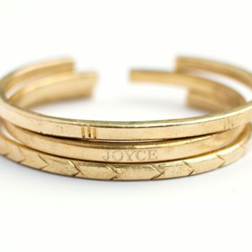 Sole Sister Bangle Set of 3