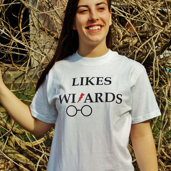 Likes Wizards Scar and Glasses T-Shirt. Unisex T-Shirt.