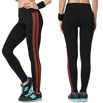 ONETOW Women's Fashion High Waist Stretch Cotton Sweatpants Jogging Wearing Ladies Yoga Pants Gym Sports And Fitness Candy Color Capris Leggings = 4747033540