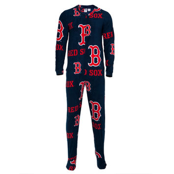 Boston Red Sox - Logo All-Over Union Suit