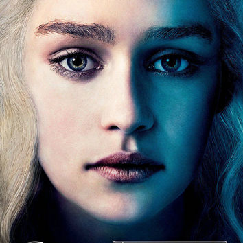 "Game Of Thrones TV Series Art Silk Wall Poster Mother Of Dragons 24x36"" 03"