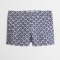 "FACTORY 4"" PRINTED STRETCH CHINO SHORT"