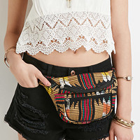 Abstract-Patterned Fanny Pack