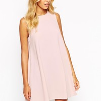 Love Shift Dress with Cut Away Shoulder