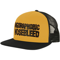 Agoraphobic Nosebleed Men's  ANB Black/Yellow Trucker Cap Black/Yellow