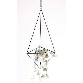 Indoor planter - Geometric glass terrarium