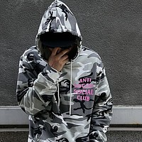 ASSC Anti Social Social Club Woman Men Fashion Top Sweater Pullover Hoodie