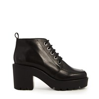 ASOS | ASOS ENTITY Leather Lace Up Ankle Boots at ASOS