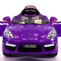 Sport Style 12V Kids Ride-On Car MP3, Battery Powered Wheels RC Remote | Purple
