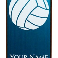 Engraved Aluminum iPhone 4/4S Case/Cover - VOLLEYBALL, VOLLEY BALL - Personalized for Free