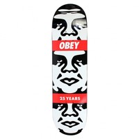 3 Face 25 Years 8.25 inch Deck by Obey
