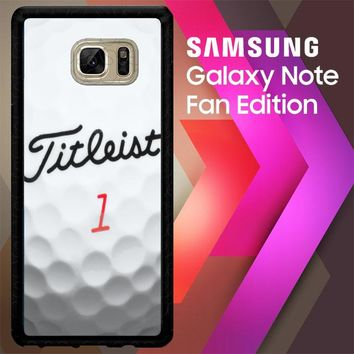 Titleist Golf Ball X4368 Samsung Galaxy Note FE Fan Edition Case