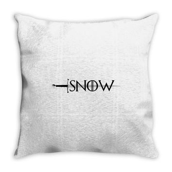 game of thrones snow Throw Pillow