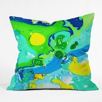 Rosie Brown Gulf Waves Outdoor Throw Pillow