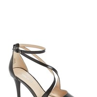 """Women's Nine West 'Peace Sign' Strappy Pointy Toe Pump, 3 1/2"""" heel"""