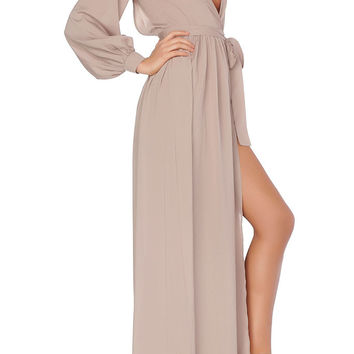 Le Antoinette Gown -  Taupe