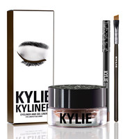 Kyliner Kit kyli Eyeliner Set Eyeliner Pencil Eye Shadow Brush three piece Set kyli