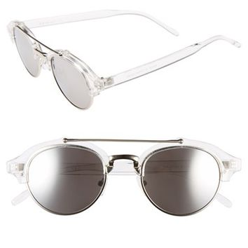 Women's A.J. Morgan 'Raddick' 46mm Round Sunglasses