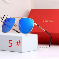 Cartier New fashion polarized couple sunscreen glasses eyeglasses