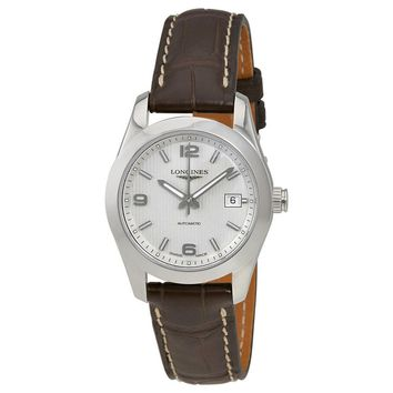 Longines Conquest Classic Silver Dial Ladies Watch L22854763
