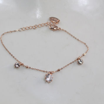 Gift Awesome New Arrival Great Deal Shiny Stylish Hot Sale Korean Simple Design Bracelet [6513526727]