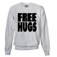 Free Hugs Sweatshirt by freehugshop