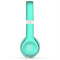 The Solid Mint V2 Skin for the Beats by Dre Headphones (All Versions Available)