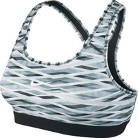 Nike Women's Pro Classic Criss Cross Printed Sports Bra