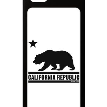 California Republic Design - Cali Bear iPhone 5 / 5S Grip Case  by TooLoud