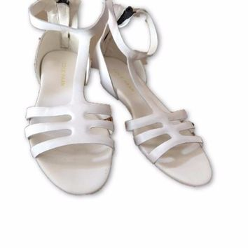 Cole Haan White Sandals Size 7 Brand New!