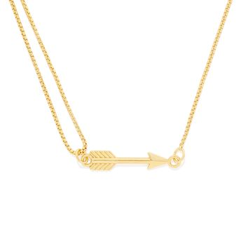 Arrow Pull Chain Necklace
