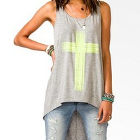 High-Low Cross Tank | FOREVER 21 - 2031557361