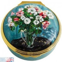 Mallows by Winston Churchill Enamel Box , Enamels , Paintings