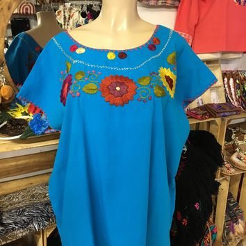 Mexican Sunflowers Blouse