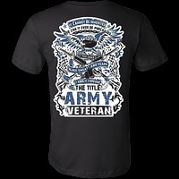THE TITLE ARMY VETERAN
