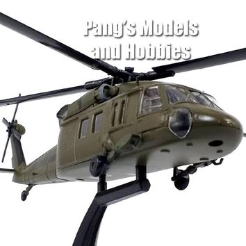 Sikorsky UH-60 Blackhawk (Black Hawk) - ARMY - 1/72 Scale Diecast Helicopter Model