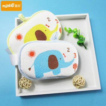 Baby towel accessories Infant Shower faucet Bath Brushes Sponge Cotton Rubbing Body Wash child Brush bath brushes sponges rub