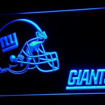 b329 NY New York Giants Helmet NR LED Neon Sign with On/Off Switch 20+ Colors 5 Sizes to choose