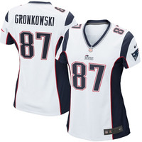 Rob Gronkowski New England Patriots Nike Women's Game Jersey –