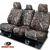 2008 - 2013 Silverado Crew Cab Mossy Oak Rear Seat Covers-Chevy Mall