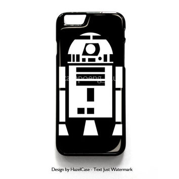 R2D2 From Star Wars Boys for iPhone 4 4S 5 5S 5C 6 6 Plus , iPod Touch 4 5  , Samsung Galaxy S3 S4 S5 Note 3 Note 4 , and HTC One X M7 M8 Case Cover