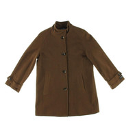 Jones New York Womens Wool Blend Long Sleeves Coat