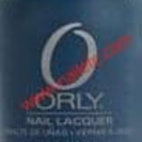 Orly Matte Couture Blue Suede Nail Polish / Lacquer / Enamel