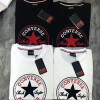 "Hot Sale!  ""CONVERSE ""Print Converse Logo Casual tee T shirts G-A-XYCL"