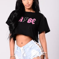 Such A Babe Tee - Black