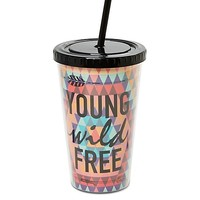 Young Wild & Free Tumbler