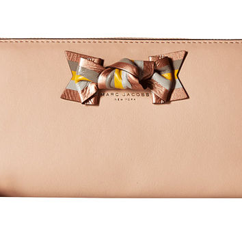 Marc Jacobs Bow Standard Continental Wallet