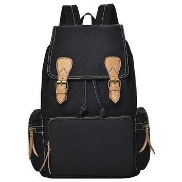 University College Backpack High school student bag female Korean version of the campus Mori girl  simple high-capacity male  canvasAT_63_4